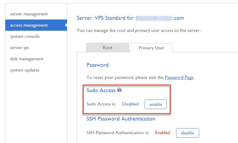 Bluehost에서 Root로 SSH에 접속하지 못하도록 차단하기