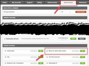 해외 호스팅 Siteground에서 데이터센터 위치 변경하기