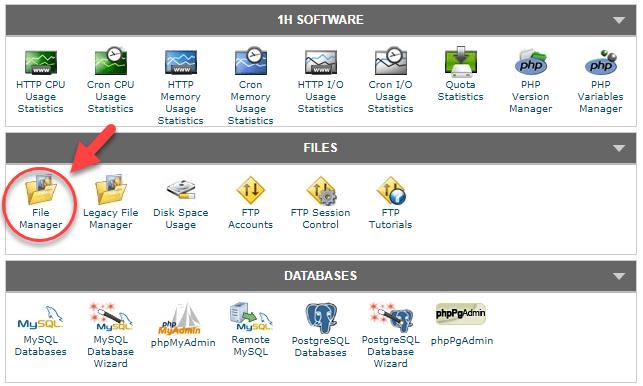 해외 호스팅 Siteground에서 파일 관리자(File Manager) 사용하기