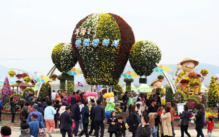 마산가고파국화축제 (11월 8일까지)