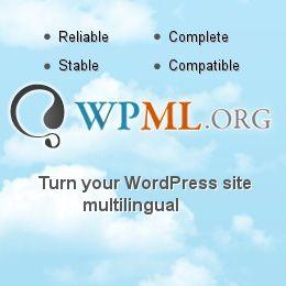 워드프레스 다국어 플러그인 WPML